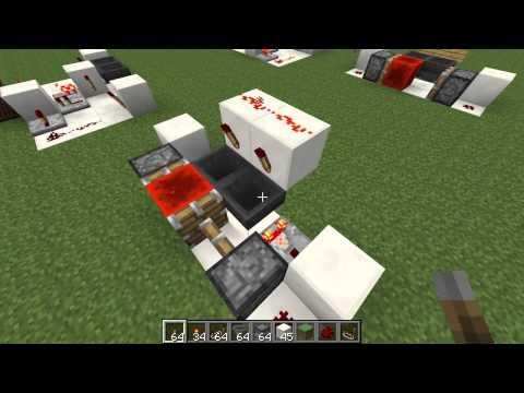Etho's Hopper Timer - Redstone Build Video mctuts.net