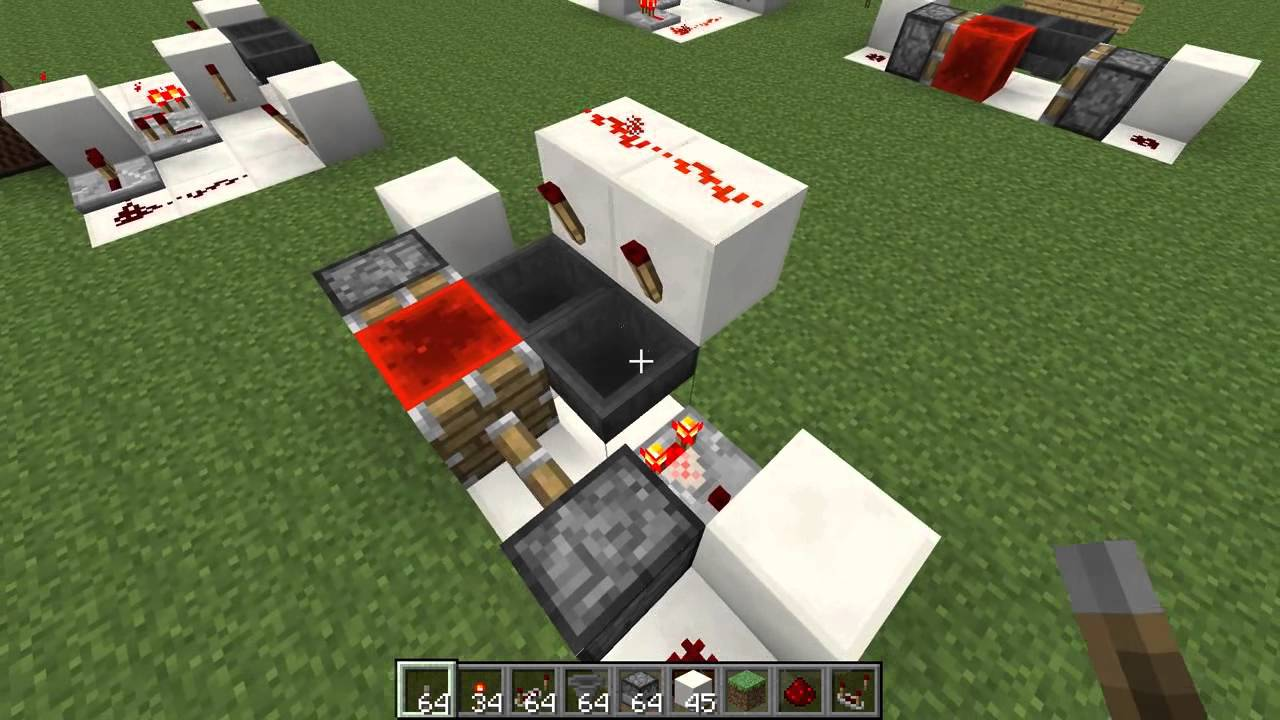 minecraft how to make a hopper filter