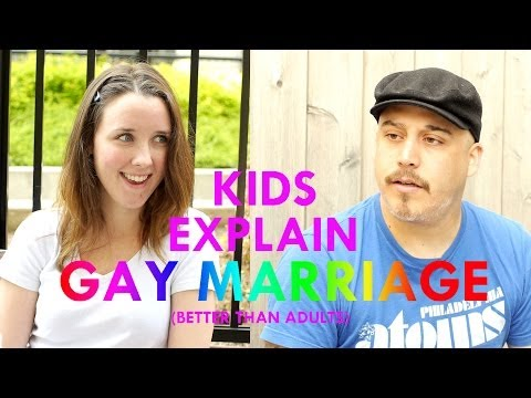 Kids Explain Gay Marriage (better than adults)
