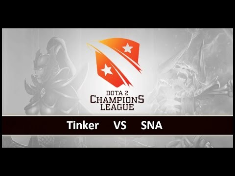 [ Dota2 ] Tinker vs SNA - D2 Champions League S4 - Thai Caster