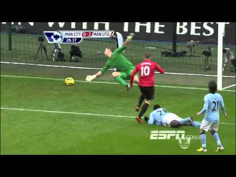 Campeonato Inglês 12/13 - Manchester City 2x3 Manchester United