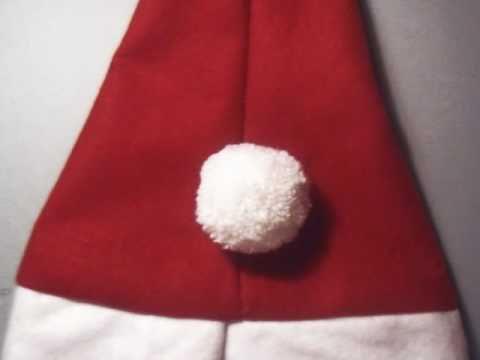 Manualidades de navidad como hacer un gorro de navidad - Como hacer manualidades de navidad para ninos ...