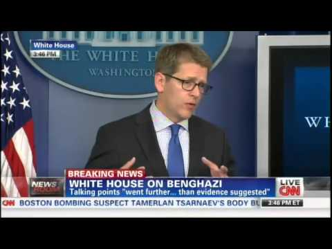 Carney: Romney To Blame For Benghazi Scandal