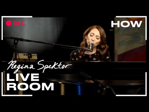 Regina Spektor - &quot;How&quot; captured in The Live Room
