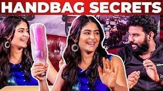 """""""KARLA KATTAI"""" Inside Pallak Lalwani's Handbag Revealed by Vj Ashiq   Kuppathu Raja Heroine"""
