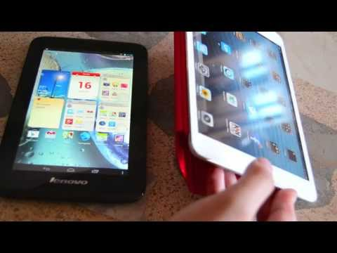 iPad Mini VS Lenovo IdeaTab A1000