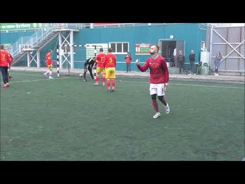 Гол Шеварева Сергея из команды ГК БАРС в ворота команды Новая Заря