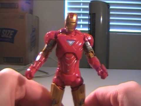 Iron Man 2: 6 Inch Iron Man Mark 6 Armor Review Video
