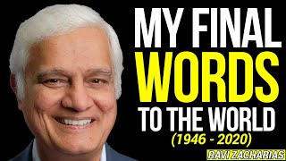 HIS FINAL WORDS (THE MESSAGE OF JESUS) - RAVI ZACHARIAS ||HIS FINAL BOOK RELEASED BEFORE HIS DEATH||