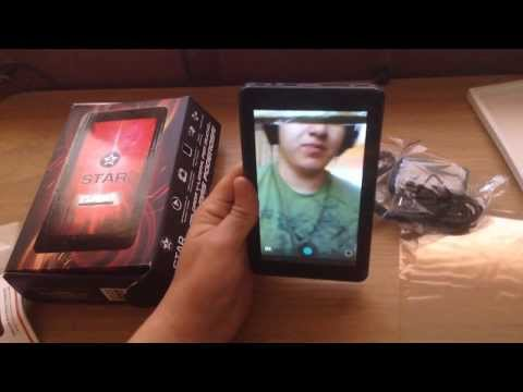 Unboxing & Review Tablet STAR PAD TURBO Android Febrero 2014