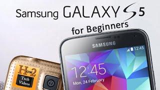 Samsung Galaxy S5 for Beginners | H2TechVideos