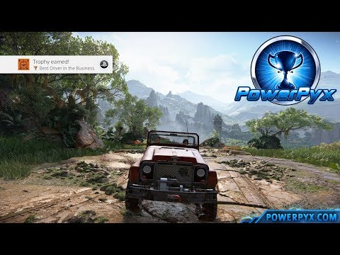 Uncharted The Lost Legacy - Best Driver in the Business Trophy Guide (Chapter 4)