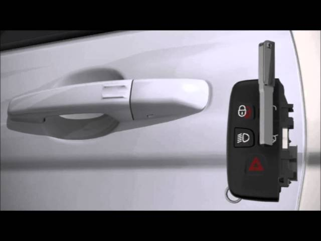 How To Operate the Range Rover Evoque Keyless Entry System ...