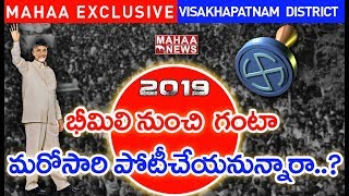MLA Contestants First List in Visakhapatnam  District | AP Election 2019 | Mahaa Exclusive