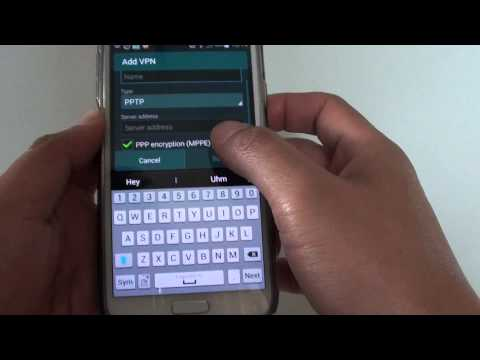 Samsung Galaxy S5: How to Setup Free VPN Connection (Real Example)
