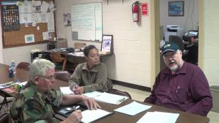 Camp Verna staff and Ronald Cobb DAV discuss secondary conditions