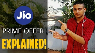 JIO PRIME OFFER | Unlimited data for 1 year