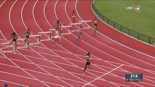 Olympic Track And Field Trials | 16-Year-Old Sydney McLaughlin Qualifies To Go To Rio
