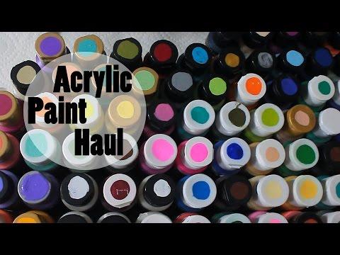 Acrylic painting iris for Craft smart acrylic paint walmart
