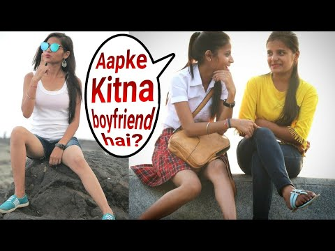 Cute School girl prank | school girl asking | aapke kitne BF hai | breakup on Cute couples | br,bhai