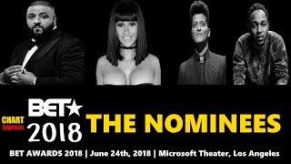 BET★ Awards 2018 - Nominees   Black Entertainment Television Awards 2018   ChartExpress