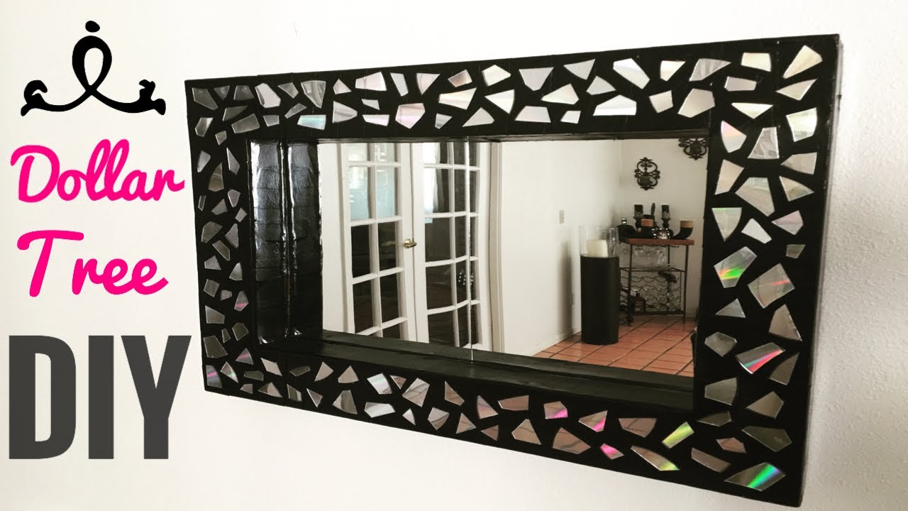 Diy wall mirror