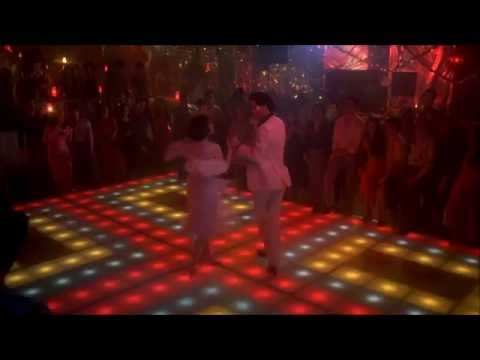 Saturday Night Fever More than a Woman The Bee Gees John Travolta HD 1080 with Lyrics