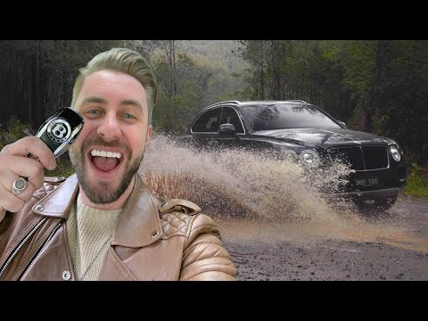 I TOOK A BENTLEY OFF ROAD! ( this felt so wrong but so much fun! )