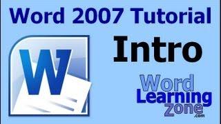 Microsoft Word 2007 Basic 1 Tutorials