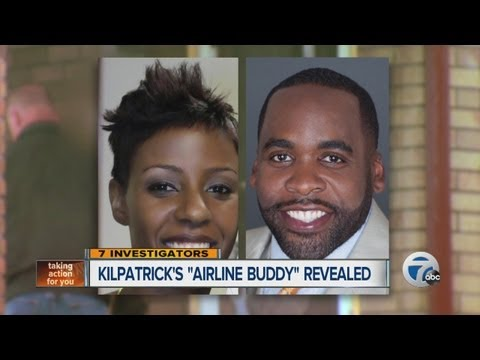 Kilpatrick's airline buddy revealed