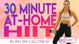 30 Minute At Home HIIT Workout