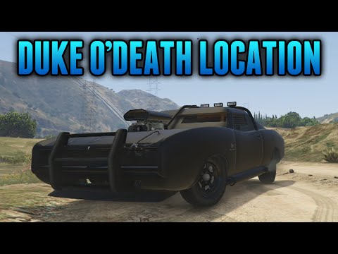 GTA 5 Rare Cars - Imponte DUKE O'DEATH Spawn Location (GTA 5 Rare & Secret Cars)