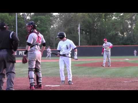 Luis Sanchez 2013  St Pius X high school baseball highlights