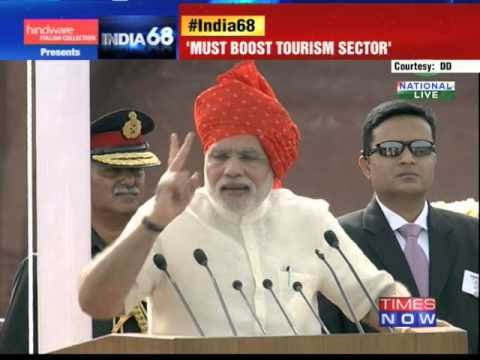 Prime Minister Narendra Modi's Independence Day speech- Part 2