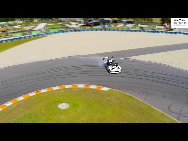 Mad Mike Drifts Highlands Motorsport Park New Zealand - FULL VIDEO