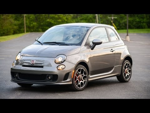 2013 Fiat 500 Turbo - WINDING ROAD POV Test Drive