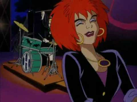 The two most popular songs from the fictional band The Hex Girls.