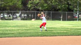 Madison Mueth Softball Skills Video