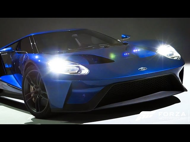 Forza Motorsport 6 - Behind the Scenes of the Ford GT