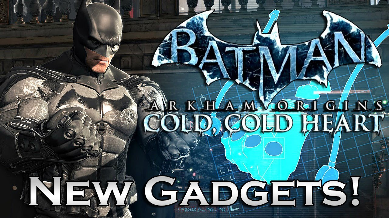 Batman Arkham Origins Cold Heart Batsuit