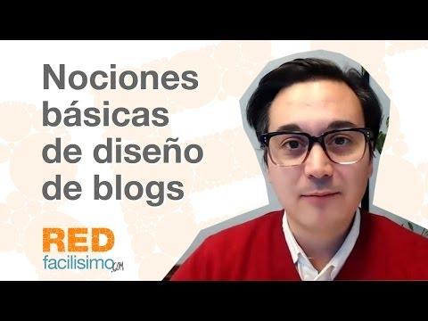 Nociones básicas de diseño de blogs