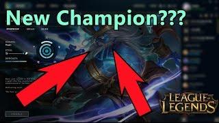 Rajin New Champion soon??  (Not confirmed) - League of Legends