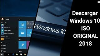 Descargar Windows 10 Pro Full Español 32&64 Bits ISO ORIGINAL 2018| ChArLiE