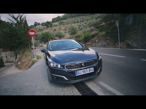 Peugeot 508 '2014, первый тест-драйв