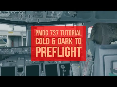 How to PMDG 737 NGX! Cold & Dark to Preflight   ✈ The Virtual Airline Pilot