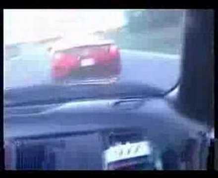 600hp Toyota Supra smoked Ferrari F360 !!
