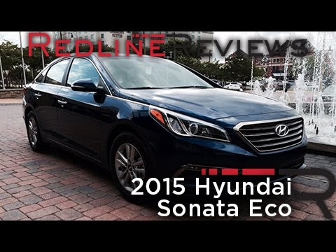 Redline First Drive: 2015 Hyundai Sonata Eco video