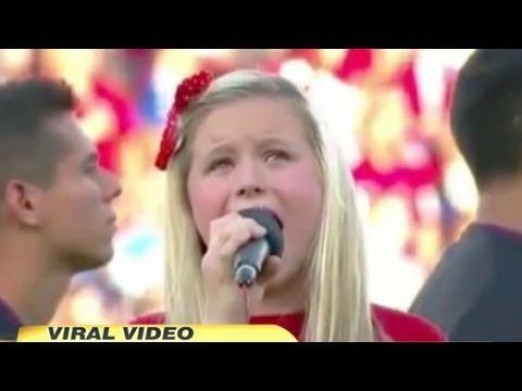 Worst National Anthem Ever? 11-Year-Old Harper Gruzins' 'Star Spangled Banner' Takes Heat
