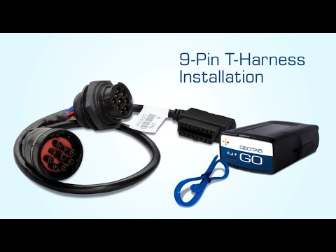 9-Pin T-Harness Installation | Heavy Duty Fleet Tracking Device Installation