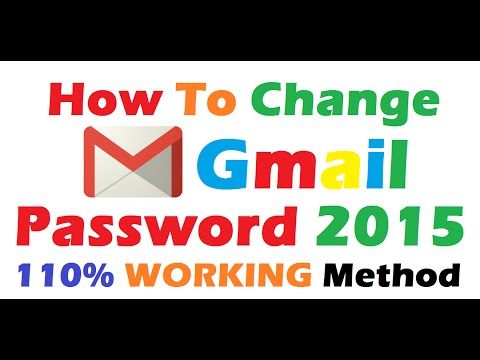 How To Change Gmail Password (110% Working)